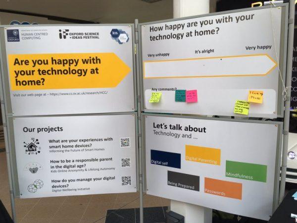 Oxford team took part in the Oxford Idea Festival 2019